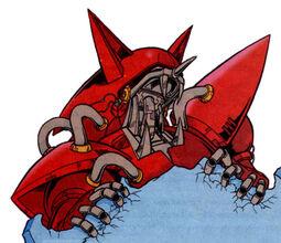Titan Metal Sonic Spaz