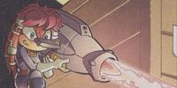Experimental Dark Legion weapon