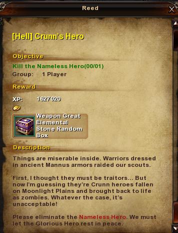 187 Hell Crunn's Hero