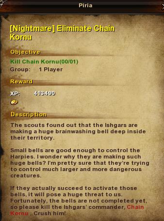 100 -Nightmare- Eliminate Chain Kornu