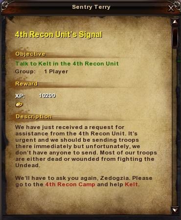 139 4th Recon Unit's Signal
