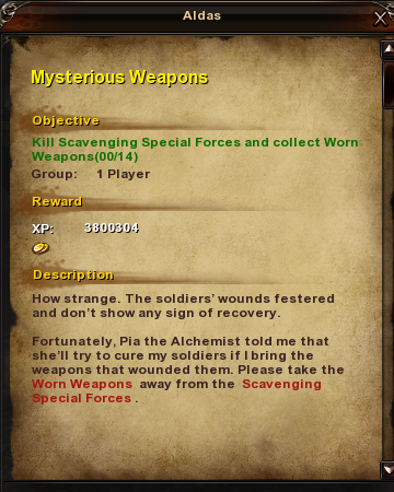 150 Mysterious Weapons