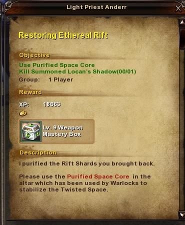 67 Restoring Ethereal Rift