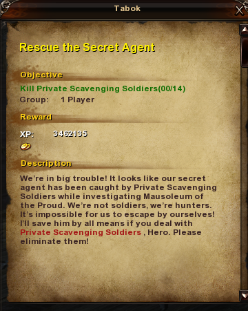 130 Rescue the Secret Agent