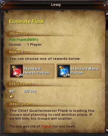 41 Eliminate Flank