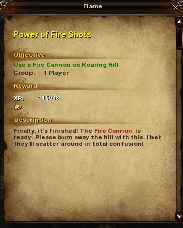 39 Power of Fire Shots