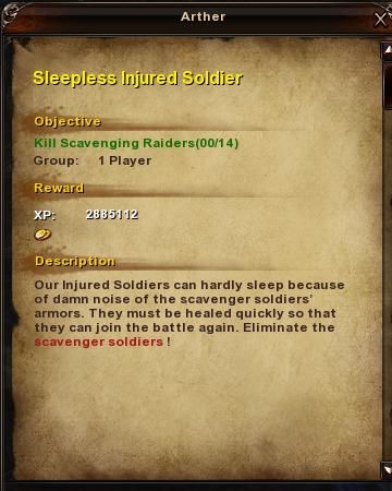 133 Sleepless Injured Soldier