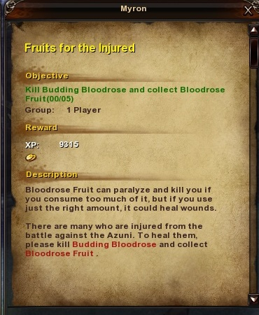 45 Fruits for the Injured