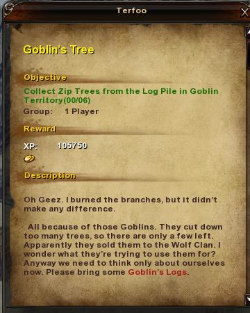 12 Goblin's Tree