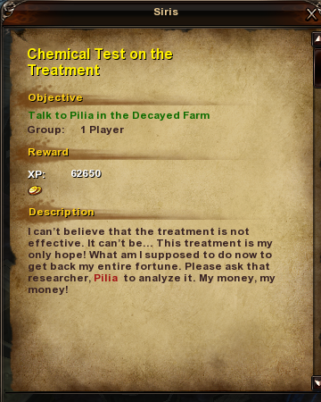 104 Chemical Test on the Treatment
