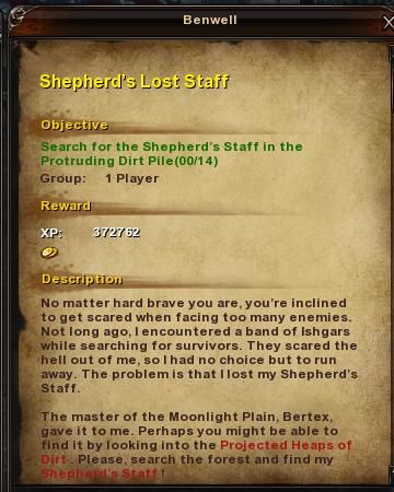 115 Sheperd's Lost Staff