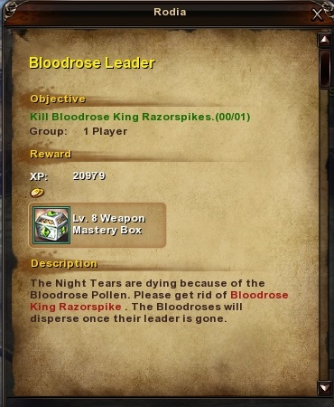 44 Bloodrose Leader