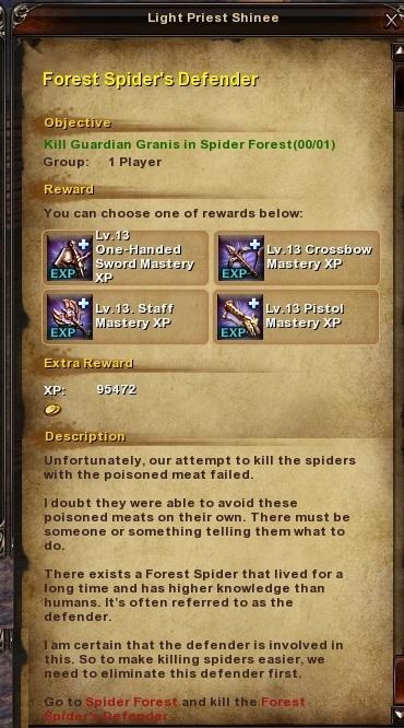 107 Forest Spider's Defender