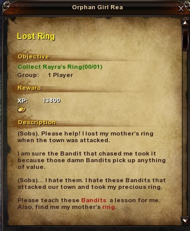 86 Lost Ring