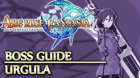 Ⓦ Arc Rise Fantasia Boss Guide, Dolphin - Urgula Boss Fight (and how to get to him first)