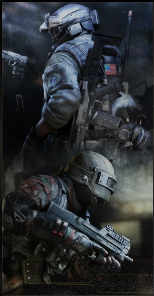 Artic Combat Character Icon