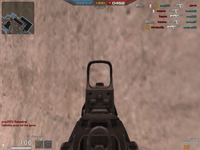 File:M4A1 A aimed.jpg