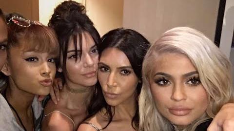 Kim Kardashian PABLO TOUR NYC FULL Feat. Ariana Grande, Kylie, Kendall, Tyga, Kanye