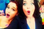 Ariana and Liz Gillies