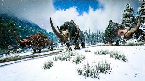 Spotlight Woolly Rhino, Eurypterid, & Dunkleosteus!