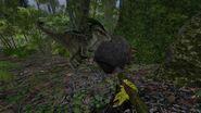 ARK-Raptor and Doedicurus Screenshot 001