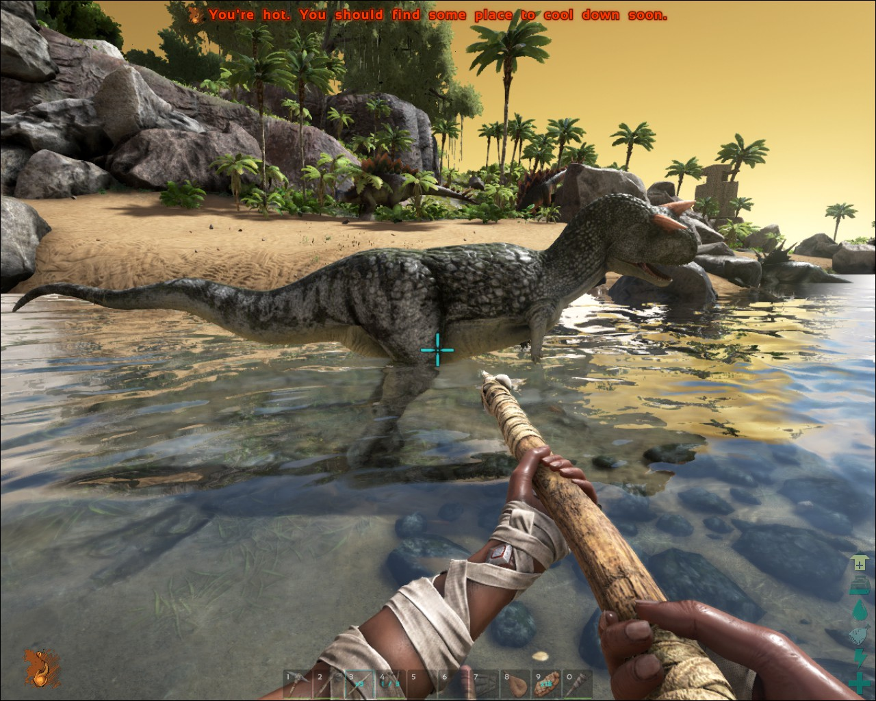 how to take a screenshot in ark