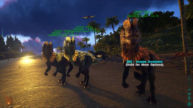 File:ARK-Dilophosaurus Screenshot 009.jpg