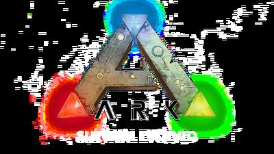 Ark-survival-evolved-wallpaper-logo-fond-blanc