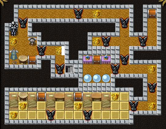 Dungeon Layout 8