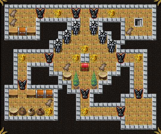Dungeon Layout 19