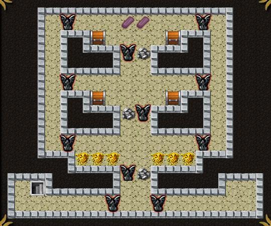 Dungeon Layout 6