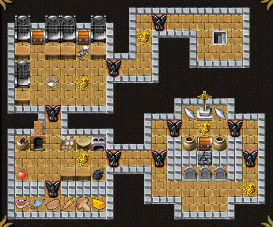 Dungeon Layout 5