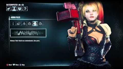 Batman - Arkham Knight - Harley Quinn Audio Files