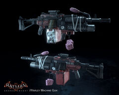 Haley's machine gun