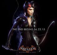 Catwoman Batman Arkham Knight promo ad