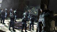 Batman vs. GCPDSwat