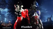 Arkham Knight and Harley Quinn 2