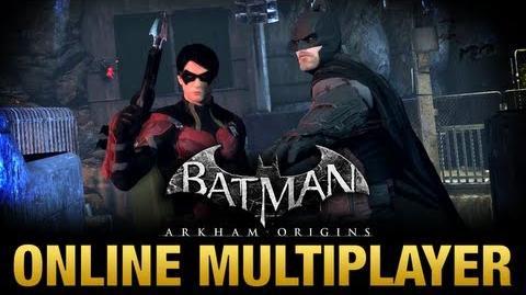 Batman Arkham Origins - Online Multiplayer Trailer