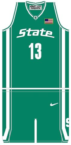 File:MichiganStSpartansBasketballJersey 2005.jpg