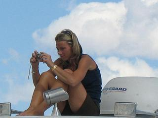 File:Picture of Woman Taking Picture.JPG