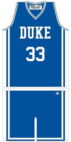 File:DukeBlueDevilsBasketballJersey 1993.jpg