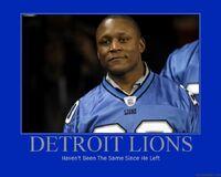 Detroit Lions Poster