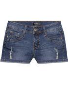 Angela Jones' Regular Blue Short Jeans