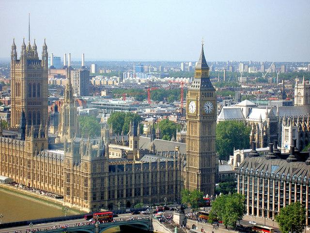 File:'Big Ben' and London skyline from the London Eye.jpg
