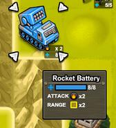 Rocket Battery unit