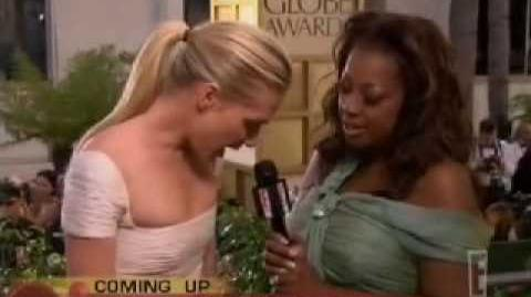 Portia de Rossi - Interview at the 2005 Golden Globes by Star Jones for E! - January 16, 2005