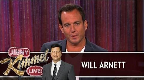 Will Arnett on Jimmy Kimmel Live PART 2