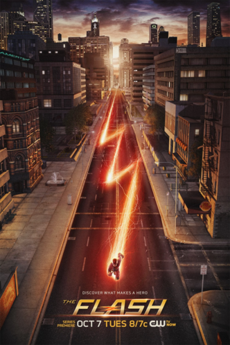 Arquivo:The Flash promo poster - Discover what makes a hero.png