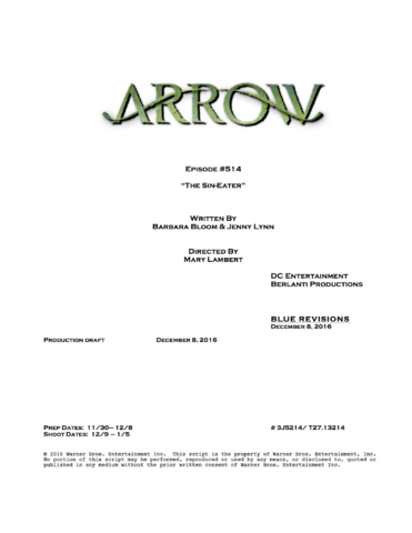 File:Arrow script title page - The Sin-Eater.png