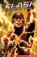 The Flash Season Zero chapter 19 digital cover